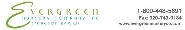 Evergreen Nursery Company